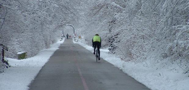 Minneapolis Skyway Winter